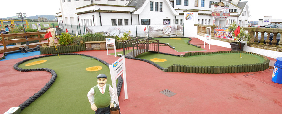 Mini Golf Putting Course